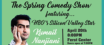 Flyer from Comedy Show