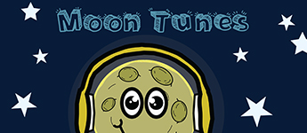 Flyer from Moon Tunes Event